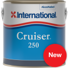 Antifouling semi érodable Cruiser 250 rouge 2.5L