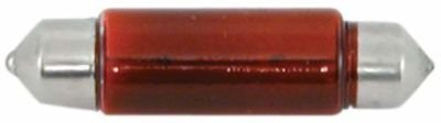 Ampoule navette 10X38 12V5W rouge EUROMARINE