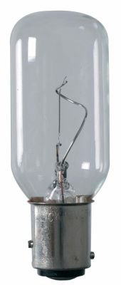 Ampoule cylindrique  BAY 15D 12V10W EUROMARINE