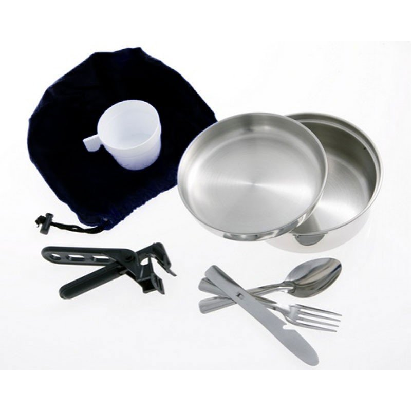 Popote inox scout 1pers CAO